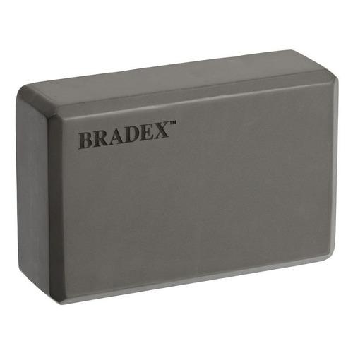Фото - Блок для йоги Bradex SF 0407 пеноматериал ш.:230мм в.:150мм т.:75мм серый блок для йоги bradex sf 0407 sf 0408 sf 0409 серый