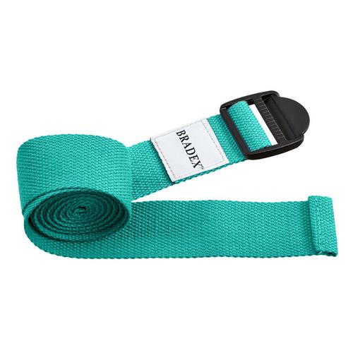 Ремень для йоги Bradex SF 0411 дл.:183см ш.:3.5см бирюзовый