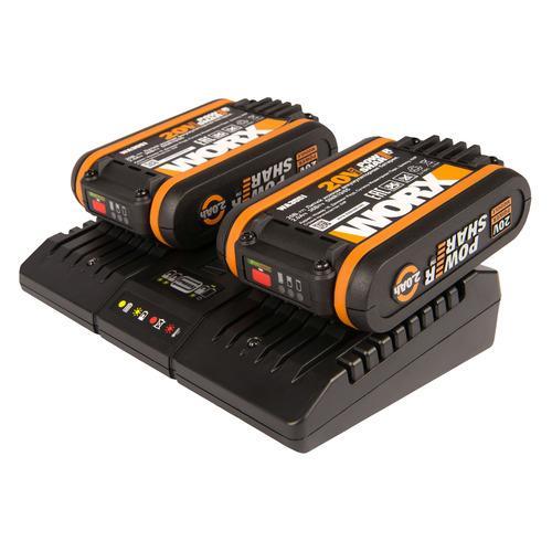 Батарея аккумуляторная Worx WA3610 20В 2Ач Li-Ion (З/У в компл.)