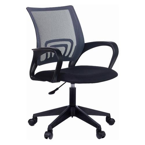 Фото - Кресло БЮРОКРАТ CH-695NLT, на колесиках, сетка/ткань, темно-серый/черный [ch-695nlt/dg/tw-11] кресло бюрократ ch w695nlt на колесиках сетка ткань темно серый [ch w695nlt dg tw 12]