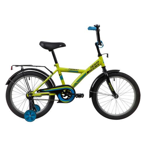 """Велосипед Novatrack Forest городской рам.:11.5"""" кол.:18"""" зеленый 11.5кг (181FOREST.GN21)"""