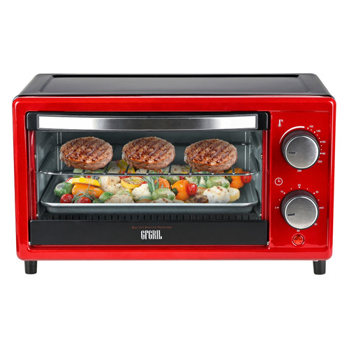 Фото - Мини-печь GFGRIL GFO-09, красный мини печь gfgril gfao 500 коричневый