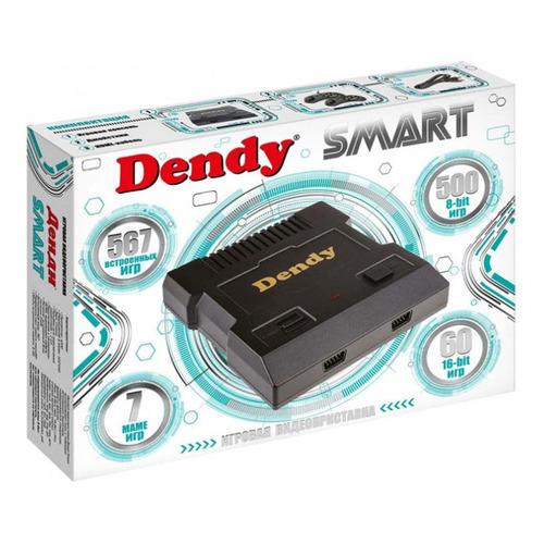 Фото - Игровая консоль DENDY 567 игр, Smart, черный игровая консоль magistr 414 игр smart черный