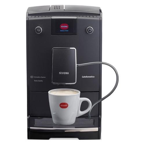 Кофемашина NIVONA CafeRomatica NICR 756, черный/серебристый