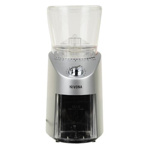 Кофемолка NIVONA CafeGrano NICG 130, серебристый [твос-00699]