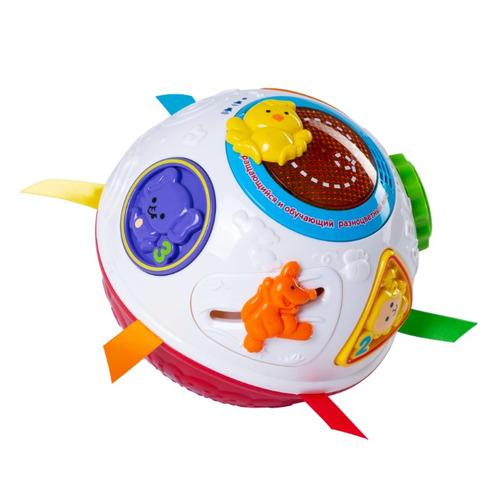 Интерактивная игрушка VTECH Вращающийся и обучающий разноцветный мяч [80-151566]