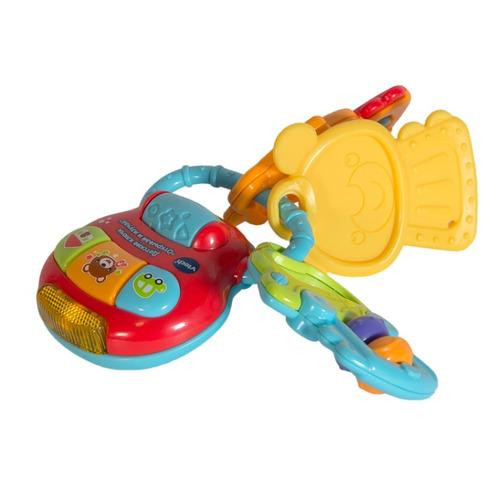 Интерактивная игрушка VTECH Детские ключи Открывай и изучай [80-505126]