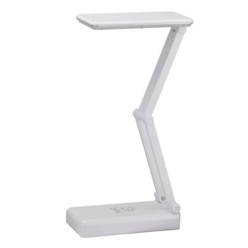 Светильник настольный ЭРА NLED-426, на подставке, 3Вт, белый [nled-426-3w-w]