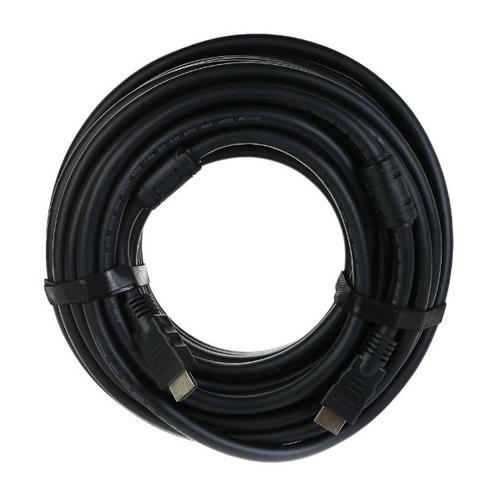 Фото - Кабель Telecom, HDMI (m) - HDMI (m) , ver 2.0, 20м, GOLD черный [tcg200f-20m] видео