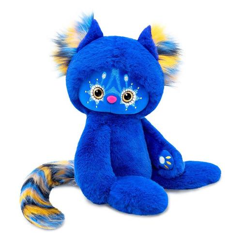 Мягкая игрушка Budi Basa Тоши (LR30-07) темно-синий 16см (3+)