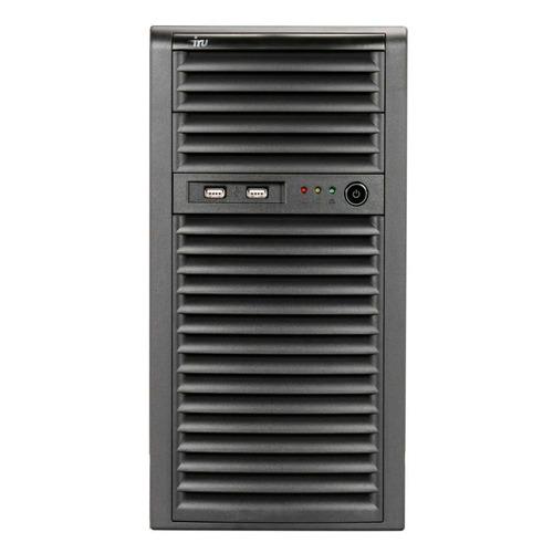 "Сервер IRU Rock S9104E 1xE-2224 1x8Gb x4 2x1Tb 7.2K 3.5"" SATA C242 BMC 1x300W 3Y Onsite (1487601)"