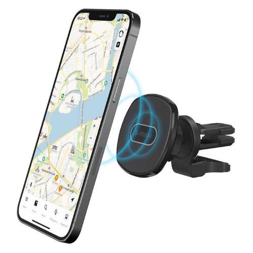 Держатель Deppa Mage Safe магнитный черный для Apple iPhone 12/12 Mini/12 Pro/12 Pro Max (55186)