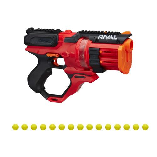 Игрушечное оружие NERF Райвл Раундхаус Красный [e6638rs0] игрушечное оружие nerf ультра дорадо [f2018zr0]