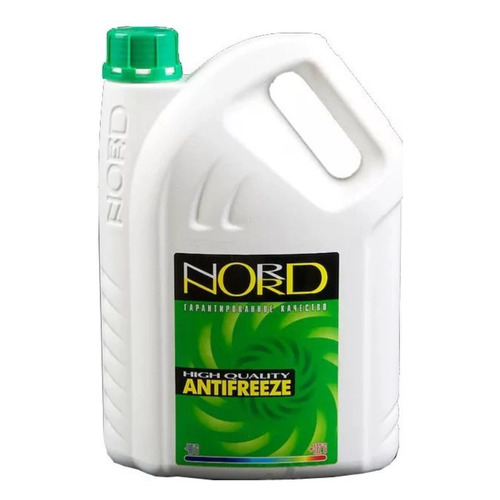 Антифриз Nord NG 22267 зеленый 3кг
