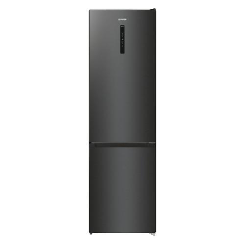 Холодильник GORENJE NRK620EABXL4, двухкамерный, черный холодильник gorenje rk621syb4 черный двухкамерный