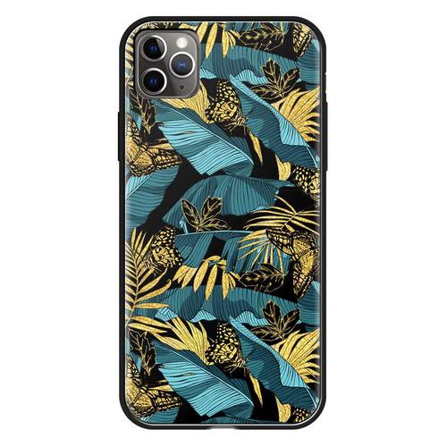 Фото - Чехол (клип-кейс) Deppa Glass Case, для Apple iPhone 11 Pro Max, цветной [87268] чехол клип кейс deppa eco case для apple iphone 11 голубой [87282]