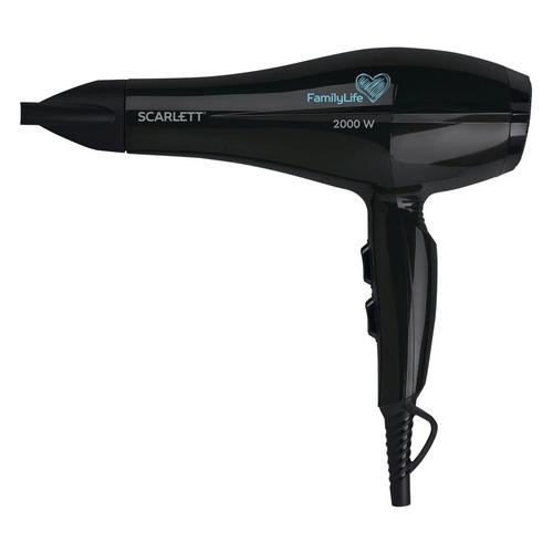 Фен SCARLETT SC-HD70I79, 2000Вт, черный недорого