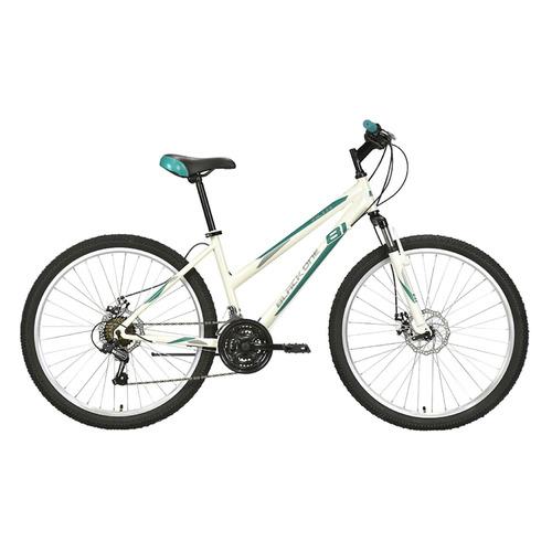 Велосипед Black One Alta 26 D (2021) горный рам.:16 кол.:26 белый/салатовый 16.3кг (HD00000449)