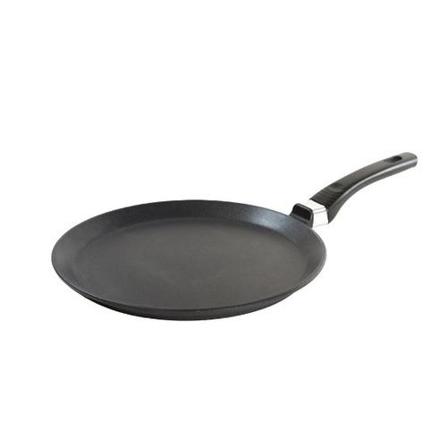 Сковорода блинная VARI LCL53124, 24см, без крышки, черный сковорода блинная vari gr53124 24см без крышки серый