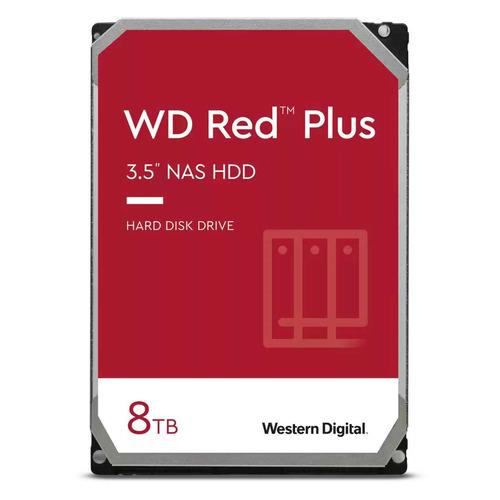 "Жесткий диск WD Red Plus WD80EFAX, 8ТБ, HDD, SATA III, 3.5"""