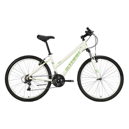 """Велосипед Stark Luna 26.1 V (2021) горный рам.:18"""" кол.:26"""" белый/салатовый 15.9кг (HD00000209)"""