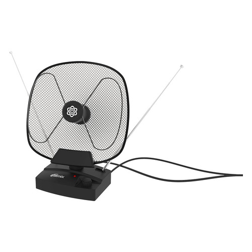 Телевизионная антенна Ritmix RTA-101 AV, комнатная антенна ritmix rta 101 av black