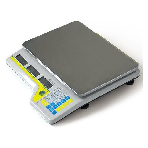 Весы торг. Штрих-М Слим Т300 15-2.5 ДП6.2 РА серый металик (136633)