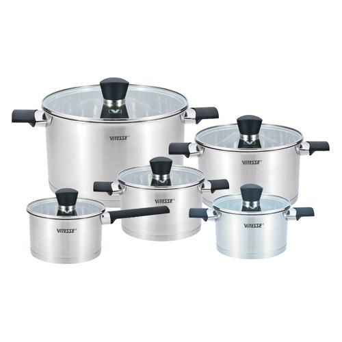 Набор посуды VITESSE VS-2086, 10 предметов недорого