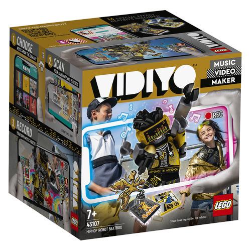 Конструктор Lego Vidiyo Битбокс Хип-Хоп Робота, 43107