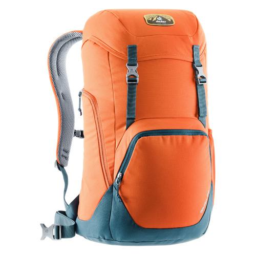 Рюкзак Deuter WALKER 24 (3810721_9312) 30x52x23см 24л. 0.85кг. оранжевый schneiders рюкзак walker chap classic petrol checks