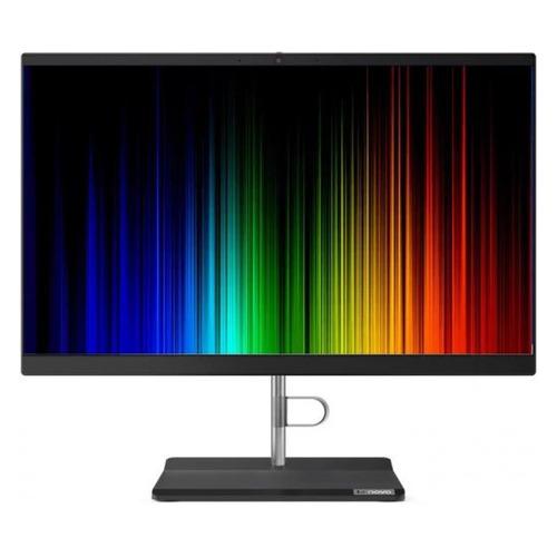 "Моноблок Lenovo V30a-24IIL, 23.8"", Intel Core i3 1005G1, 4ГБ, 128ГБ SSD, Intel UHD Graphics, noOS, черный [11la001eru]"