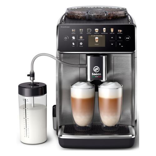 Кофемашина SAECO GranAroma SM6585/00, металлик/серебристый