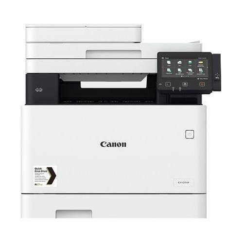 Фото - МФУ лазерный Canon i-Sensys X C1127IF (3101C051) A4 Duplex WiFi белый/черный мфу canon i sensys mf744cdw копир цветной принтер сканер dadf duplex 27стр мин 1200x1200dpi fax wifi lan a4 замена mf734cdw