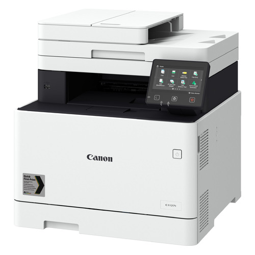 Фото - МФУ лазерный Canon i-Sensys X C1127I (3101C052) A4 Duplex WiFi белый/черный мфу canon i sensys mf744cdw копир цветной принтер сканер dadf duplex 27стр мин 1200x1200dpi fax wifi lan a4 замена mf734cdw