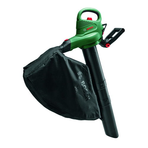 Воздуходувка-пылесос BOSCH UniversalGardenTidy 3000, зеленый [06008b1001]