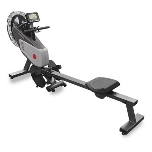 Гребной тренажер Carbon R808 черный/серый