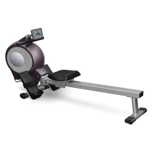 Гребной тренажер Oxygen Typhoon HRC черный/серый