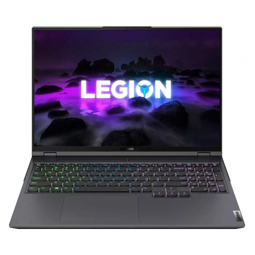 "Ноутбук Lenovo Legion 5 Pro 16ACH6, 16"", IPS, AMD Ryzen 7 5800H 3.2ГГц, 16ГБ, 512ГБ SSD, NVIDIA GeForce RTX 3050 Ti для ноутбуков - 4096 Мб, noOS, 82JS0009RK, серый"