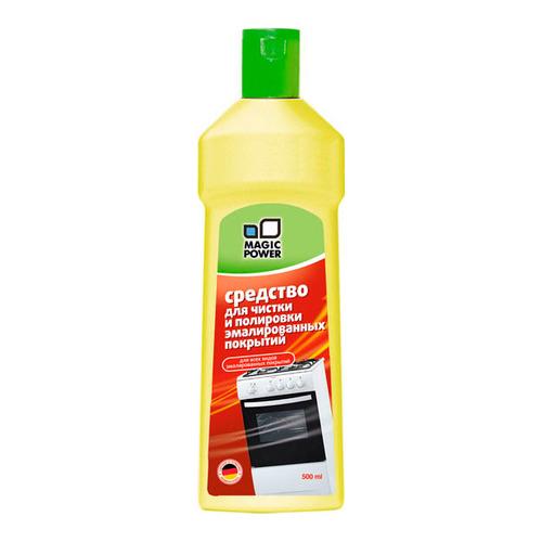 молочко чистящее для кухонных поверхностей clean home формула антизапах 290 г Чистящее средство MAGIC POWER MP-027, для кухонных плит и СВЧ, 500мл