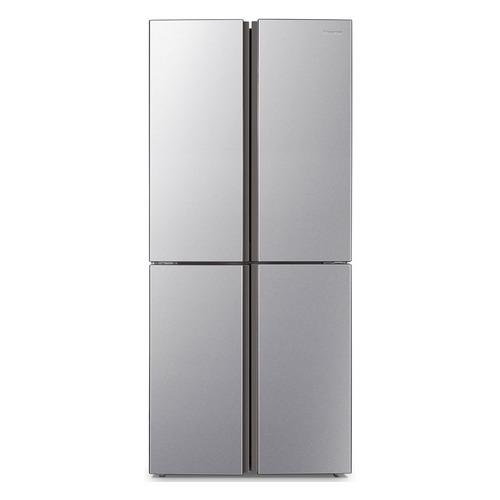 Холодильник HISENSE RQ515N4AD1, трехкамерный, серебристый