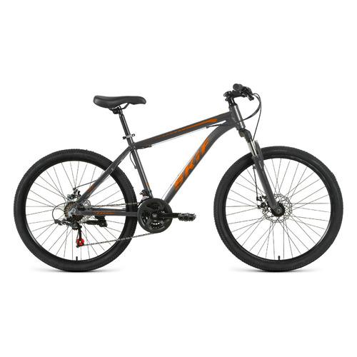 """Велосипед Skif 29 Disc (2021) горный рам.:17"""" кол.:29"""" темно-серый/оранжевый 16.3кг (1BKK1M39G003)"""