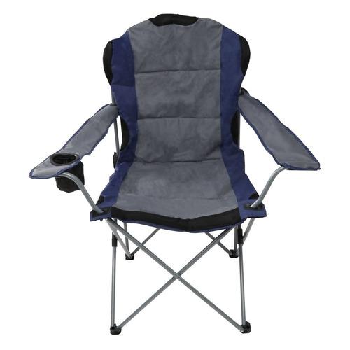 Кресло походн. Green Glade M2315 складн. серый/синий 3,18кг кресло походн green glade м2308 складн черный хаки 6 3кг