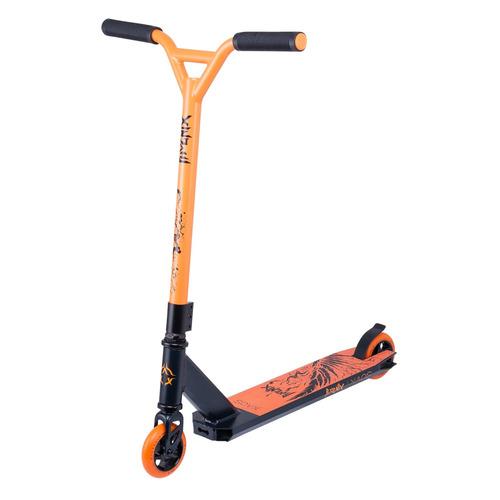 Самокат Xaos Phoenix трюковый 2-кол. черный/оранжевый (УТ-00018557)