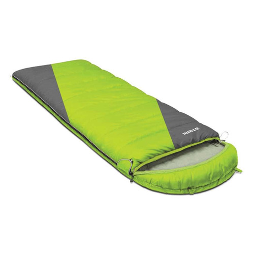 Мешок спальный Atemi Quilt 300L лев. одеяло дл.:220см зеленый/серый (00-00000656)