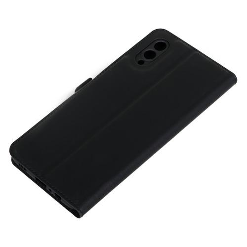 Фото - Чехол (флип-кейс) DF sFlip-85, для Samsung Galaxy A02, черный [df sflip-85 (black)] чехол флип кейс df sflip 58 для samsung galaxy a01 черный [df sflip 58 black ]