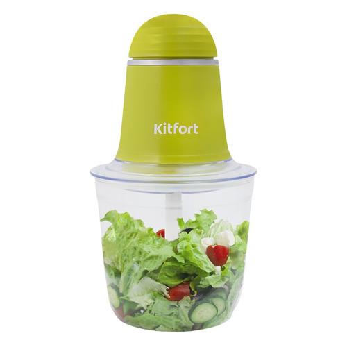 Измельчитель электрический Kitfort КТ-3016-2 0.5л. 200Вт салатовый