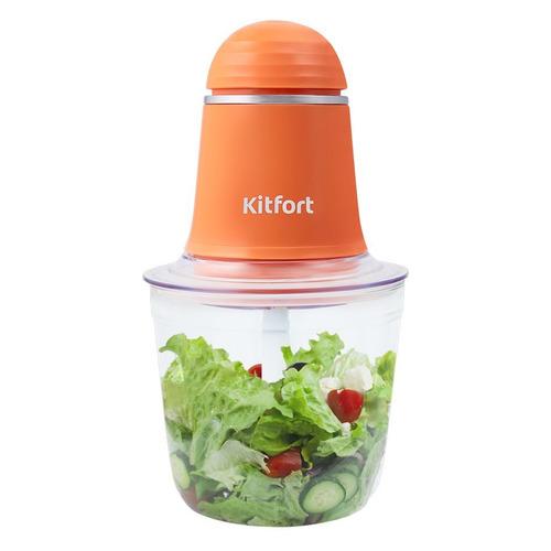 Измельчитель электрический Kitfort КТ-3016-4 0.5л. 200Вт оранжевый