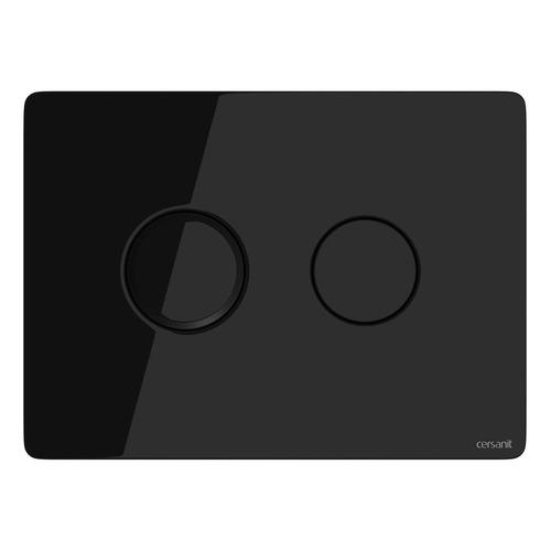 Кнопка смыва для унитаза CERSANIT Aqua, Accento [p-bu-acn-cir-pn/bl/gl]