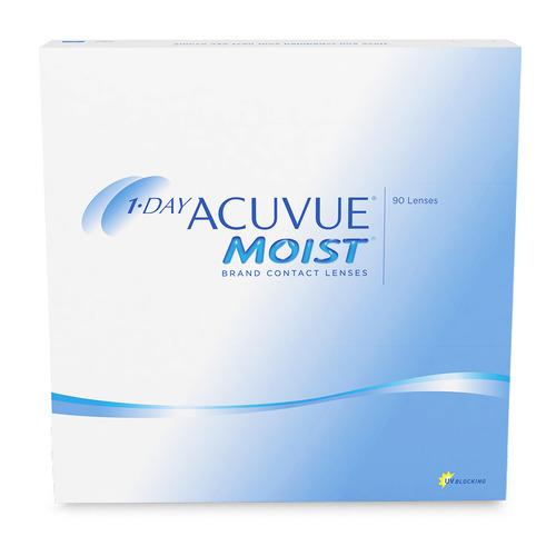 Контактные линзы Acuvue Moist 8.5мм -9 уп.:90шт