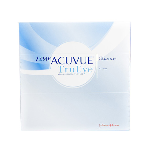Контактные линзы Acuvue TruEye 8.5мм -4 уп.:90шт